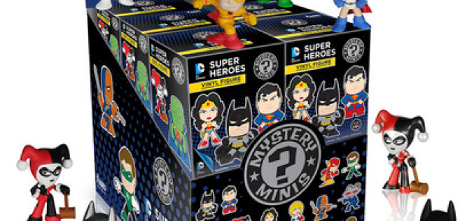 Funko DC Comics Mystery Minis, Harley Quinn & Deadpool Wacky Wobblers Coming Soon