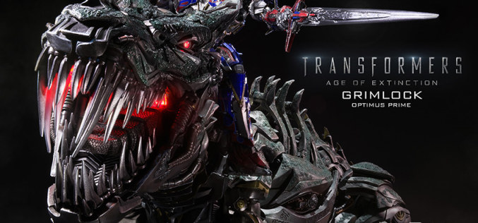 Sideshow Collectibles Transformers Grimlock Optimus Prime Version Statue Pre-Orders