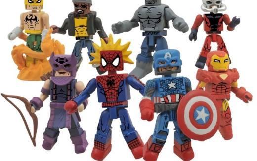 Diamond Select Toys Shipping Update – Marvel Minimates 3, Mechagodzilla Bust Bank, Clerks Minimates, & More