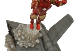 Diamond Select Toys Exclusive Marvel Select Bleeding Edge Iron Man Action Figure Coming to Marvelshop.