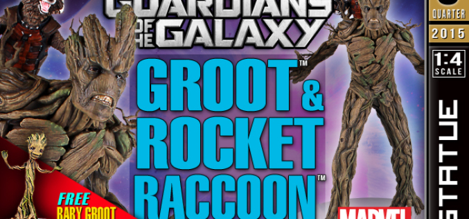 Gentle Giant Ltd. Opens Pre-Orders For Guardians Of The Galaxy Rocket And Groot Statue