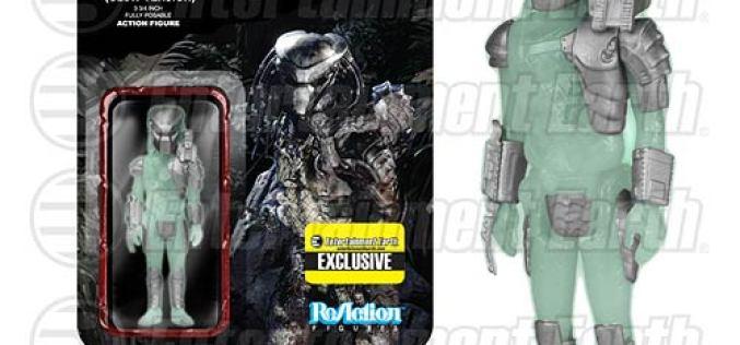 Funko Glow-In-The-Dark Predator ReAction 3 3/4″ Retro Figure – Entertainment Earth Exclusive