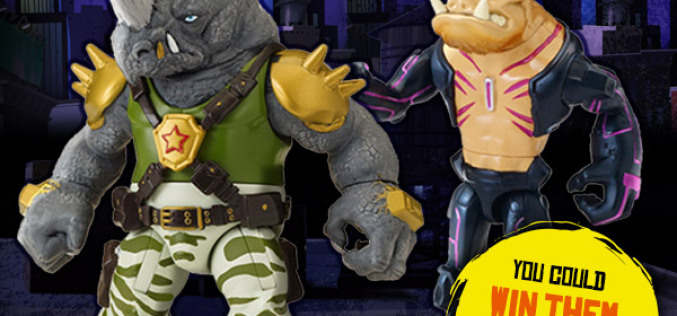 Teenage Mutant Ninja Turtles Bebop & Rocksteady Coming To Wal-Mart In Mid-November 2014