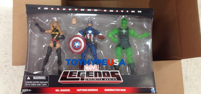 Target Exclusive 6″ Marvel Legends Infinite Series Collectors Edition 3-Pack Found In Stores