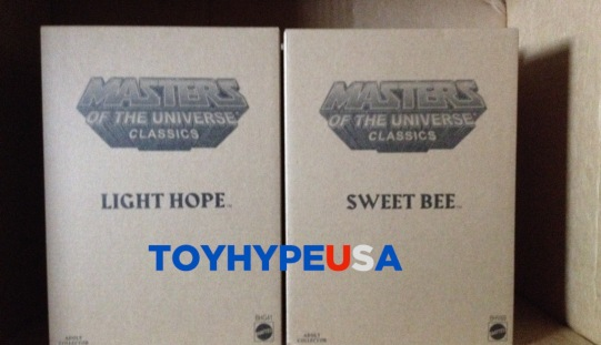 ToyHypeUSA Store Update – Masters Of The Universe Classics Sweet Bee & Light Hope Figures Now In Stock