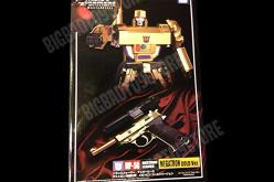 Transformers Masterpiece 30th Anniversary Exclusive MP-05G Megatron Gold Version
