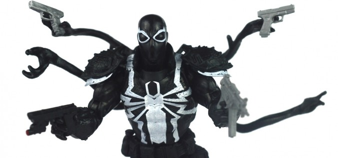 Walgreens Exclusive Marvel Legends Spider-Man Infinite Series Agent Venom Review