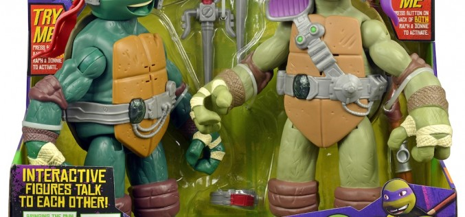 "Toys ""R"" Us Becomes The Training Zone For Teenage Mutant Ninja Turtles Excitement"