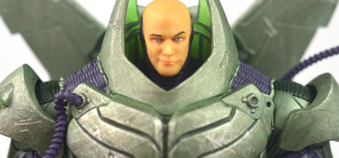 DC Collectibles New 52 Deluxe Lex Luthor Figure Review
