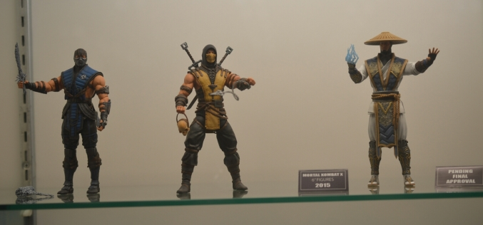 Mezco Toyz Officially Announces Mortal Kombat 4″ & 6″ Figures Coming 2015