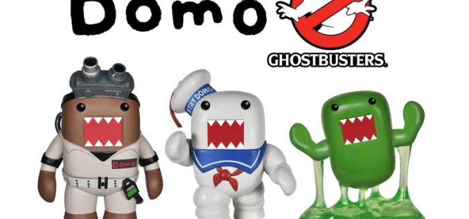 Funko Domo Ghostbusters Pop! Vinyl Figures Coming Soon