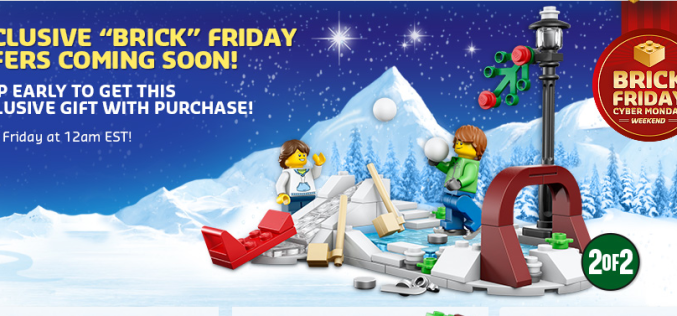 LEGO Shop Black Friday Offers Starts November 28th