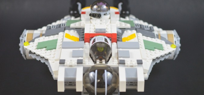 LEGO Star Wars Rebels 75053 The Ghost Review