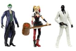 Mattel DC Multiverse 4″ 2015 Series 1 Announced – Batman, Hush, Harley, Joker, & More