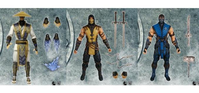BBTS Update – Mezco Toyz Mortal Kombat X 6″ Figures