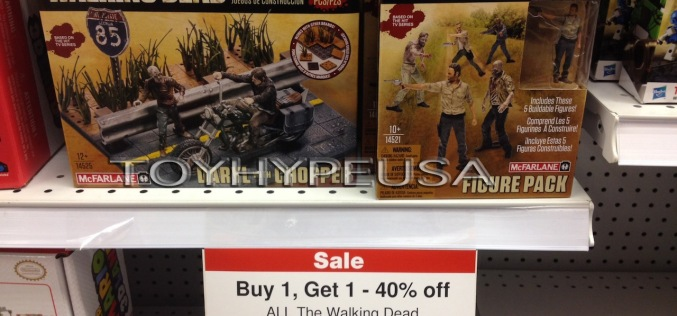 "The Walking Dead Construction Sets BOGO Sale November 16th-22nd At Toys ""R"" Us"