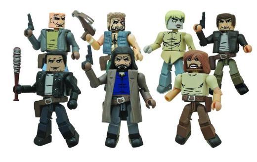 The Walking Dead Minimates Comic Series 7 Figures Revealed