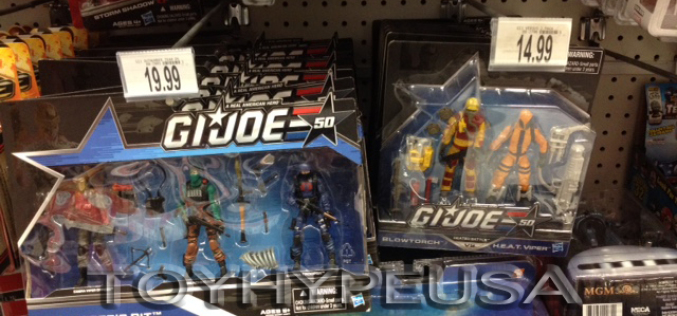"Toys ""R"" Us Lowers Price Of G.I. Joe 50th Anniversary Shared Exclusives"