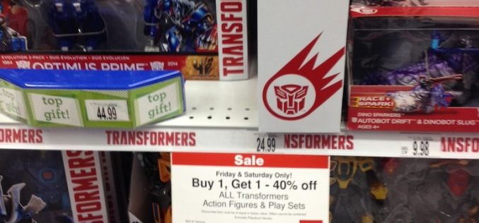"Toys ""R"" Us Transformers BOGO Sale Friday & Saturday Only"