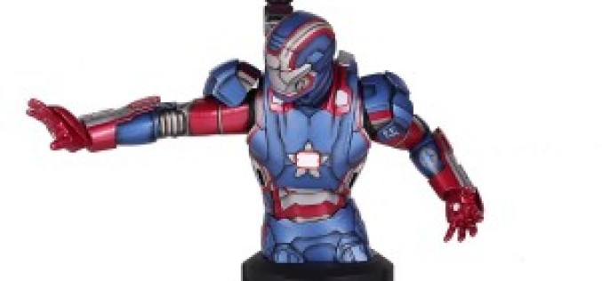 Amazon Lightning Deal Starting At 1PM On Marvel Iron Patriot Mini Bust (Amazon Exclusive)