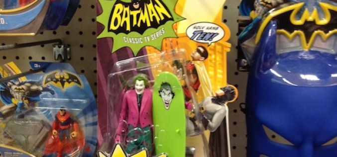 "Mattel Batman 1966 TV Series Surf's Up The Joker Found At Toys ""R"" Us"
