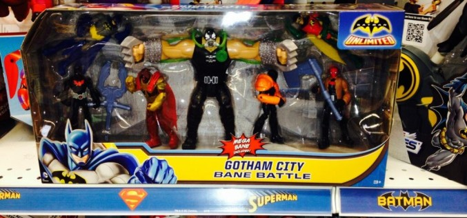 Batman Unlimited – Gotham City Bane Battle From Mattel Found At Target Stores