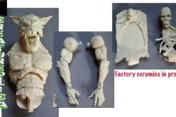 Creatureplica Yeit & Werewolf Figures Tooling In Progress Samples