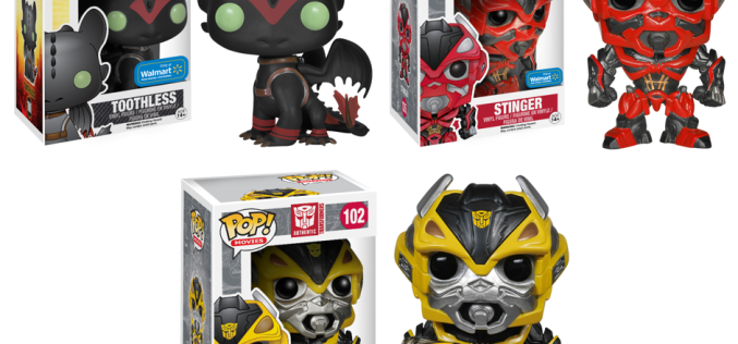 Funko Announces Wal-Mart Exclusives: Stinger, Bumblebee & Toothless With Racing Stripes