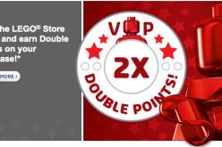 LEGO Shop Offering Double Rewards Sunday, December 21st Only