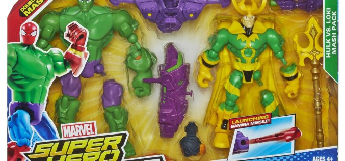 Amazon Lightning Deal On Marvel Super Hero Mashers Hulk Vs. Loki Mash Pack At 9:30 PM EST