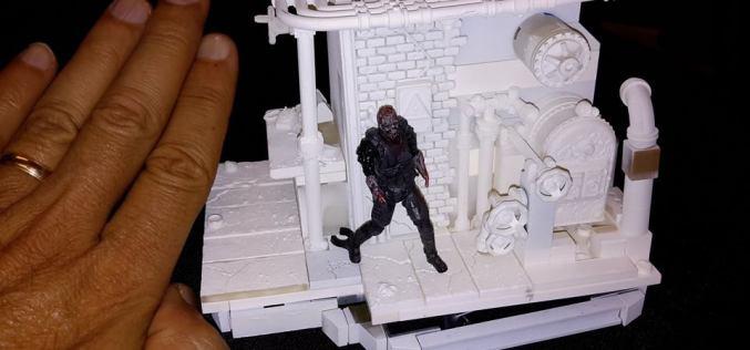 McFarlane Toys The Walking Dead Prison Boiler Room Construction Set