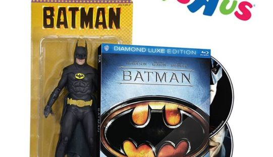 "NECA Batman 1989 Toys ""R"" Us Exclusive DVD Set Still Shipping"