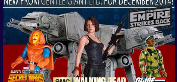 New From Gentle Giant Ltd. – At-At Bookends, Maggie Greene, Hobgoblin, & Sgt. Stalker