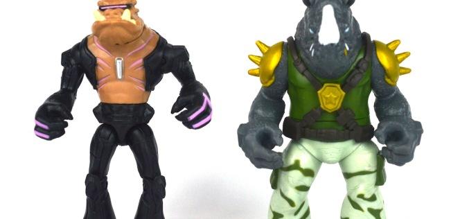 Nickelodeon Teenage Mutant Ninja Turtles Rocksteady & Bebop Figures Review