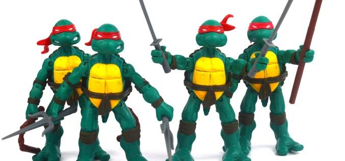 Playmates Toys Teenage Mutant Ninja Turtles Original Comic Book Turtles Review