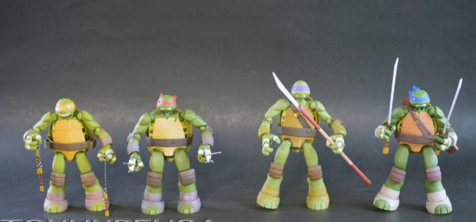 Revoltech Teenage Mutant Ninja Turtles Review