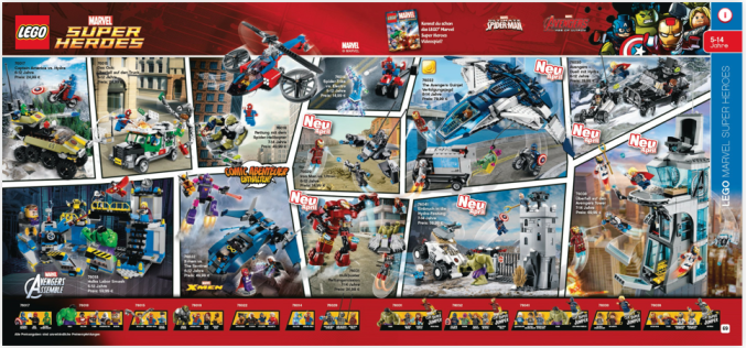 LEGO The Avengers 2 Age Of Ultron Catalog Preview For 2015