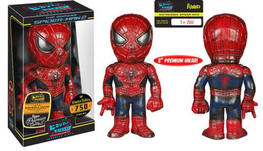 Funko Spider-Man Distressed Premium Hikari Sofubi Vinyl Figure