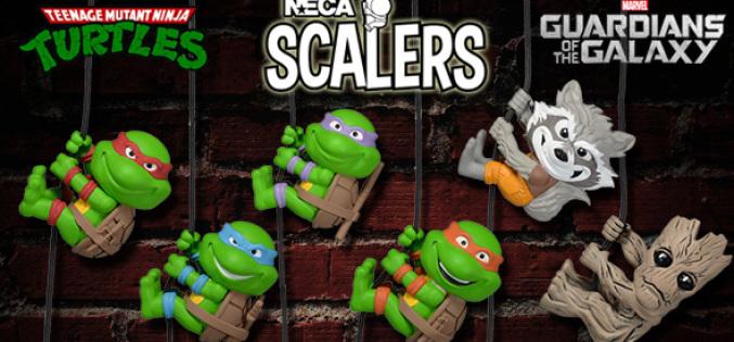 NECA Shipping This Week – Teenage Mutant Ninja Turtles & Guardians Of The Galaxy Scalers