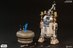 Sideshow Star Wars R2-D2 Deluxe Sixth Scale Figure Final Product Photos
