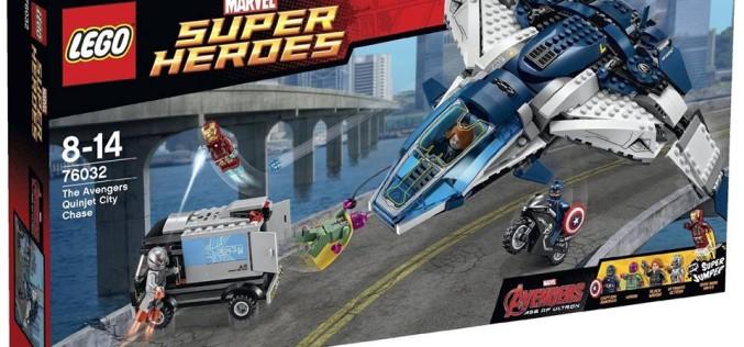 LEGO Avengers: Age Of Ultron Official Set Desciptions & Images