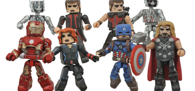 Diamond Select Toys Video Preview Of Avengers Age Of Ultron Minimates