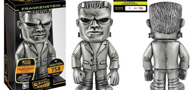 Funko Frankenstein Platinum Hikari Sofubi Figure Revealed
