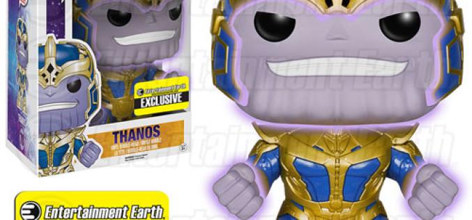 Funko Guardians Of The Galaxy Thanos Glow-In-The-Dark 6″ Pop! Vinyl Exclusive Figure
