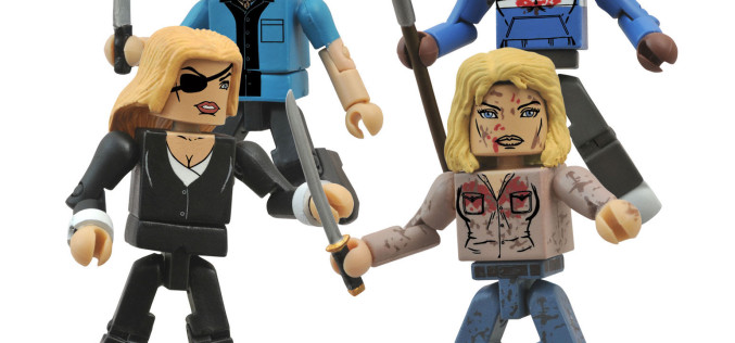 ToyHypeUSA Pre-New York ToyFair 2015 Exclusive Look – DST Kill Bill Minimates Deadly Vipers Box Set