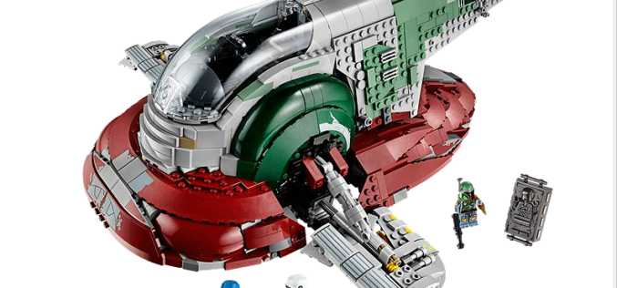 LEGO Star Wars 75060 Slave I Available At LEGO Shop