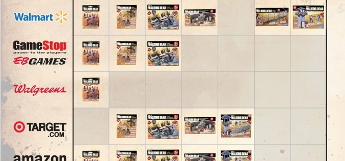 McFarlane Toys The Walking Dead Building Sets Coming To Thousands Of More Stores