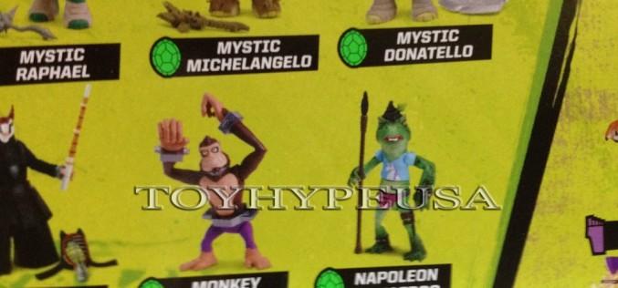 Nickelodeon Teenage Mutant Ninja Turtles Monkey Brains, Napoleon Bonafrog, & Dark Beaver Revealed