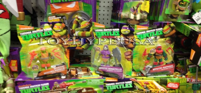 """Nickelodeon Teenage Mutant Ninja Turtles Mystic Turtles Found At Toys """"R"""" Us"""
