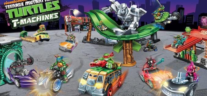 Nickelodeon Teenage Mutant Ninja Turtles T-Machines Coming Spring 2015
